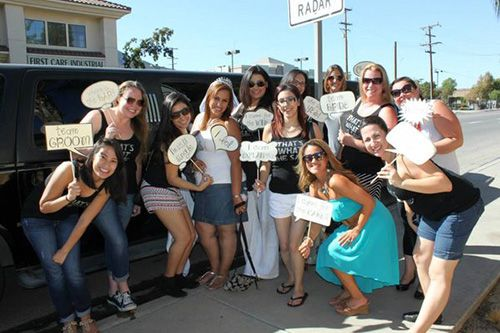 Limo rentals for bachelorette parties