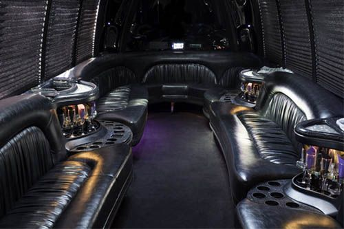 Party Bus Interior Photo from our Fleet